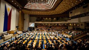 Le Parlement philippin a voté samedi la prolongation jusqu'à la fin de l'année de la loi martiale dans le sud du pays.