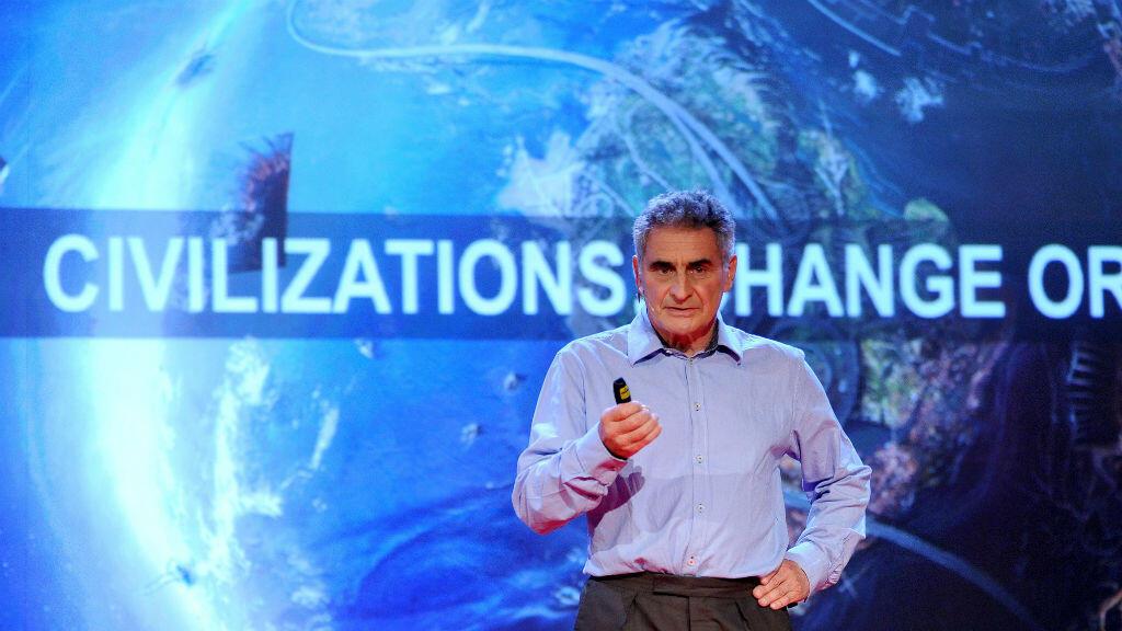 Jean-Christophe Victor était âgé de 69 ans. Ici, à TEDxHelvetia 2012.