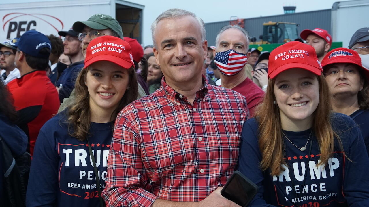 """In Pennsylvania, Trump fans cheer his """"excellent choice"""" for the Supreme Court"""