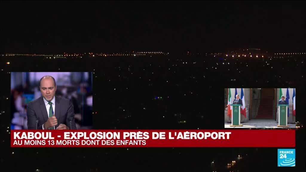 """2021-08-26 16:42 Explosion près de l'aéroport de Kaboul : """"Cette menace était crédible dès le premier jour"""""""