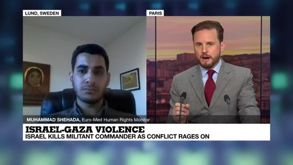 """2021-05-17 21:03 Israel-Gaza violence: """"There is a conduct of public diplomacy that is being very irritating"""""""