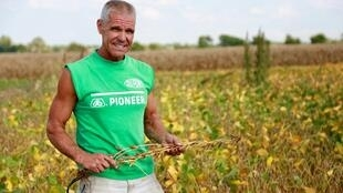 Dave Kestel, producteur de maïs et de soja de l'Illinois, est directement touché par la guerre commerciale entre Pékin et Washington.