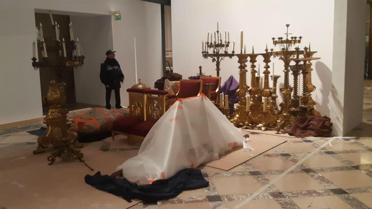 Ces objets précieux de Notre-Dame ont été mis à l'abri à l'Hôtel de Ville, dans la nuit du 15 au 16 avril.