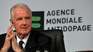 Craig Reedie, président de l'Agence mondiale antidopage.
