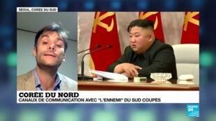 """2020-06-09 13:10 Corée du Nord : canaux de communication avec 'l'ennemi"""" du sud coupés"""
