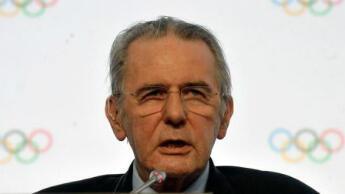 Jacques Rogge, président du CIO