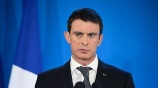 رئيس الحكومة الفرنسية مانويل فالس