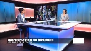 Birmanie : les femmes en première ligne contre l'armée
