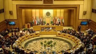 اجتماع وزراء الخارجية العرب في القاهرة لمناقشة تطورات القضية الفلسطينية في 21 أبريل/نيسان 2019.