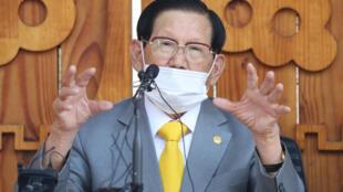 Lee Man-hee, head of the Shincheonji Church of Jesus