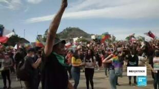 Las protestas por reivindicaciones sociales se mantienen en Chile desde el 18 de octubre