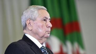 Abdelkader Bensalah a été nommé mardi 9 avril 2019, président par intérim de l'Algérie, par le Parlement.