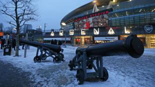 L'Emirates Stadium, antre des Gunners d'Arsenal.