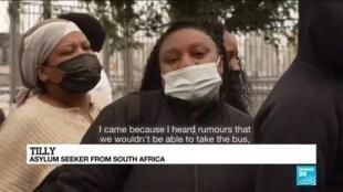2021-03-02 09:40 Israel vaccine rollout: FRANCE 24 meets asylum seekers scrambling to get jab