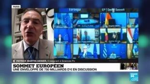 2020-06-19 13:02 Sommet européen : une enveloppe de 750 milliards d'euros en discussion