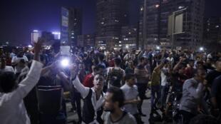 Des manifestants anti-Sissi au Caire, le 20 septembre 2019.