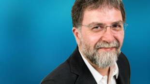 """Ahmet Hakan, éditorialiste du quotidien """"Hürriyet"""",  est connu pour ses critiques contre le pouvoir turc."""