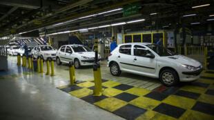 Depuis l'annonce du rétablissement des sanctions américaines, PSA a annoncé la suspension de sa production en Iran.