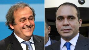 Le Français Michel Platini et le prince jordanien Ali pourraient s'affronter pour le fauteuil de Sepp Blatter.