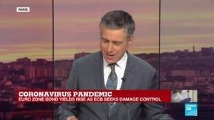 2020-03-13 18:06 Damage control: Former ECB director defends current leader's remarks