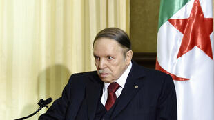 Le président algérien, Abdelaziz Bouteflika, photographié en avril 2016 (archives).