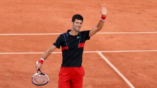 Novak Djokovic, victorieux face au vétéran espagnol Fernando Verdasco.