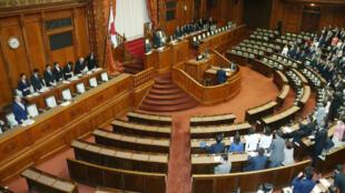 Le Sénat japonais a approuvé la loi antiterroriste le 15 juin 2017.