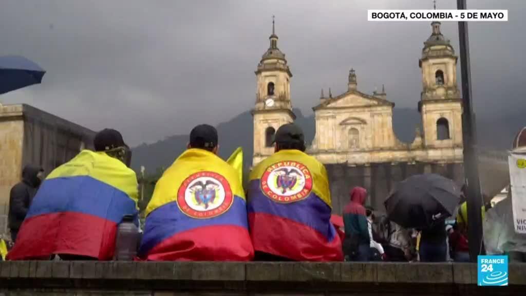 """2021-07-08 14:35 La CIDH se pronuncia por el """"uso excesivo y desproporcionado de la fuerza"""" en Colombia"""