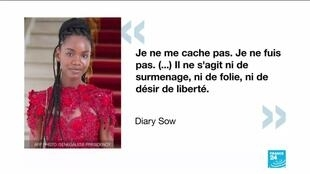 """Diary Sow, Senegalese student who disappeared in France, says she is """"fine"""" and """"safe"""""""