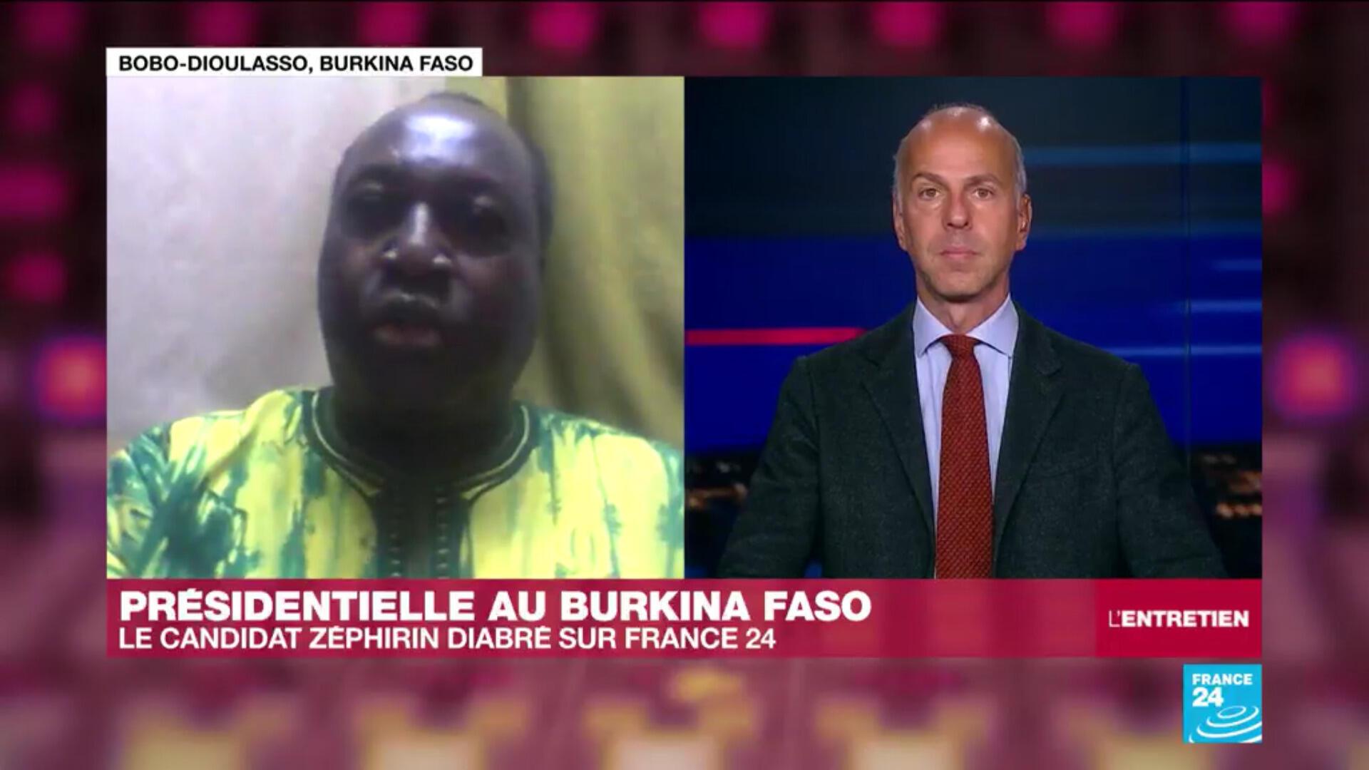L'opposant burkinabé Zéphirin Diabré, président de l'Union pour le Progrès et le Changement (UPC).