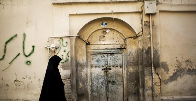 إمرأة إيرانية.