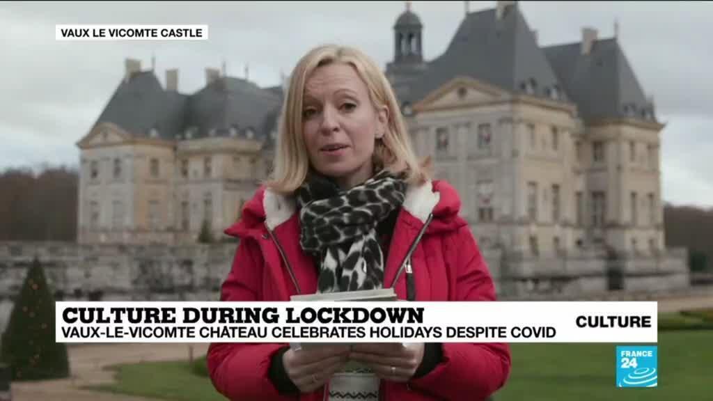 2020-12-17 14:15 Culture during lockdown: Vaux-le-Vicomte Château celebrates holidays despite Covid