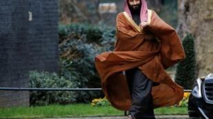 Le prince héritier saoudien Mohammed ben Salmane, à Londres le 7 mars 2018