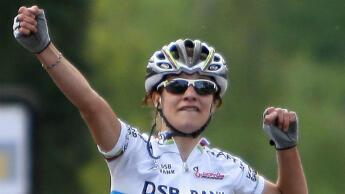 La cycliste néerlandaise Marianne Vos