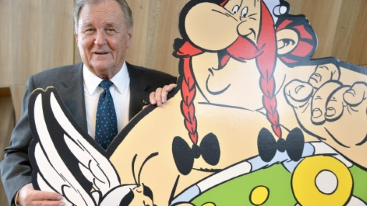 Image result for Asterix creator Albert Uderzo dies at 92