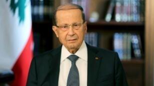 صورة أرشيفية للرئيس اللبناني ميشال عون