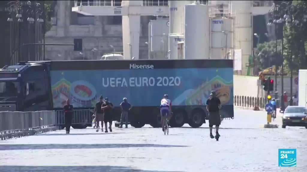 2021-07-11 17:04 Euro-2021 : Londres se prépare au coup d'envoi final Italie-Angleterre