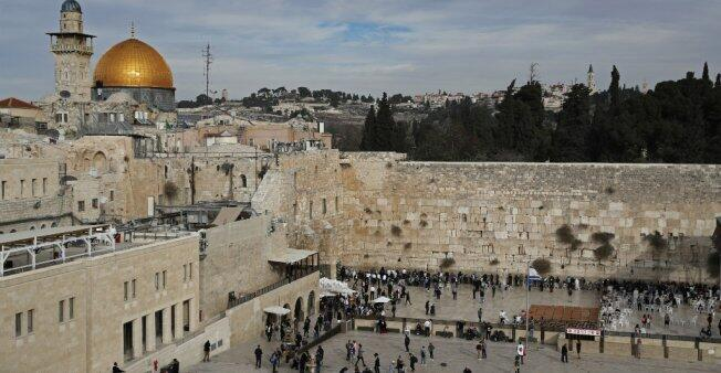 حائط المبكى في القدس