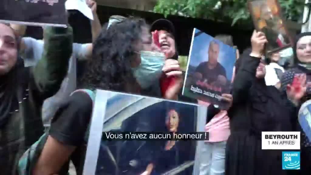 2021-08-04 17:21 Explosion à Beyrouth : un an après, les familles de victimes réclament justice