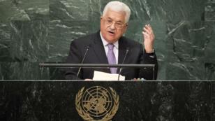 محمود عباس أمام الأمم المتحدة