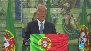 2021-01-25 10:10 Portugal's Marcelo Rebelo de Souza re-elected, promises to be 'president to all'