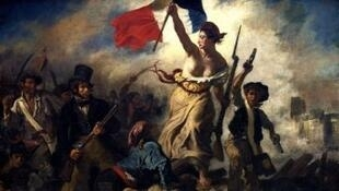 """""""La Liberté guidant le peuple"""" d'Eugène Delacroix"""