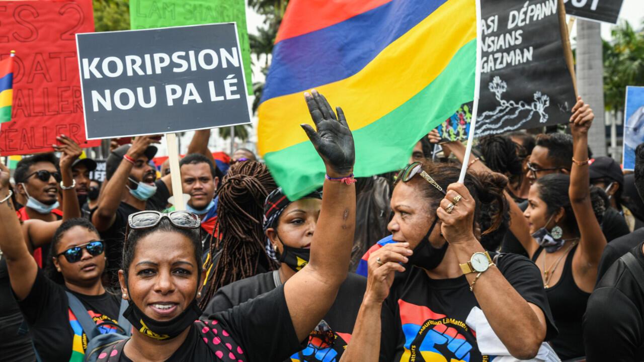 Mauritius protests