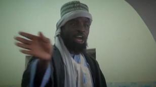 Le leader de Boko Haram Abubakar Shekau, qui apparaît dans une vidéo de propagande.