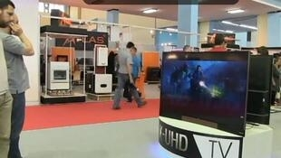 صورة ملتقطة عن الفيديو لمعرض الجزائر الدولي ال48