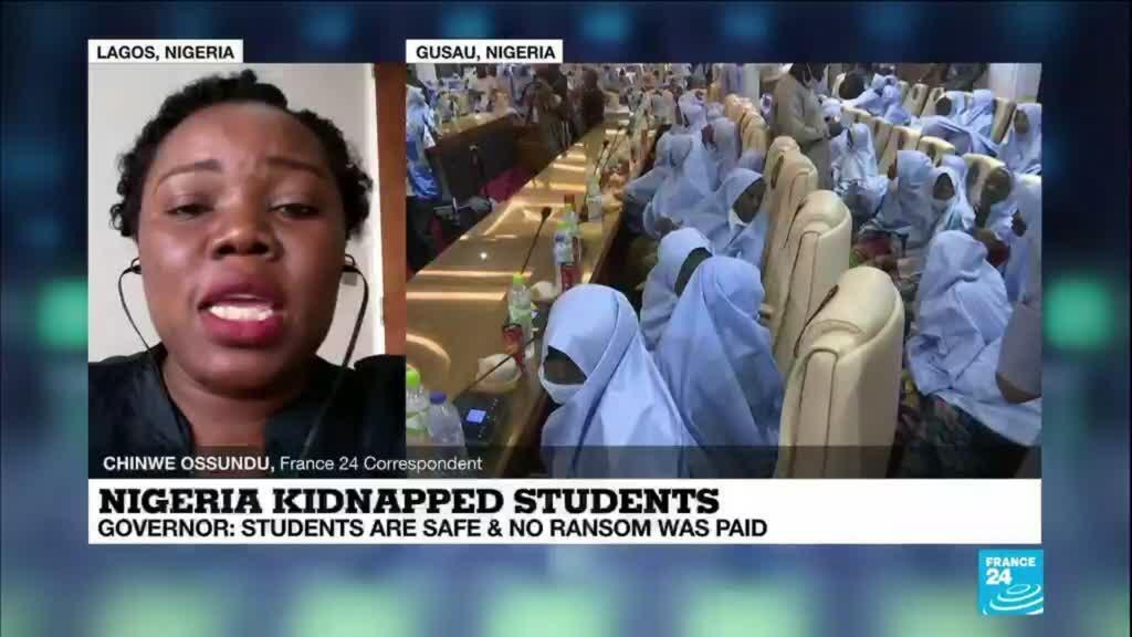 2021-03-02 12:07 Nigeria kidnapping: Students are safe and no ransom was paid, governor says