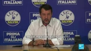 2020-09-22 08:05 'We lost, that's clear': Italy's Salvini fails to make expected gains in regional elections