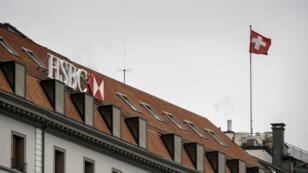 La filiale suisse de la HSBC à Genève.
