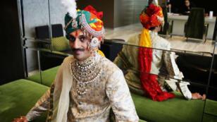 Le Prince Manvendra Singh Gohil, premier prince ouvertement gay, à Rajpipla, dans le Gujarat en Inde.