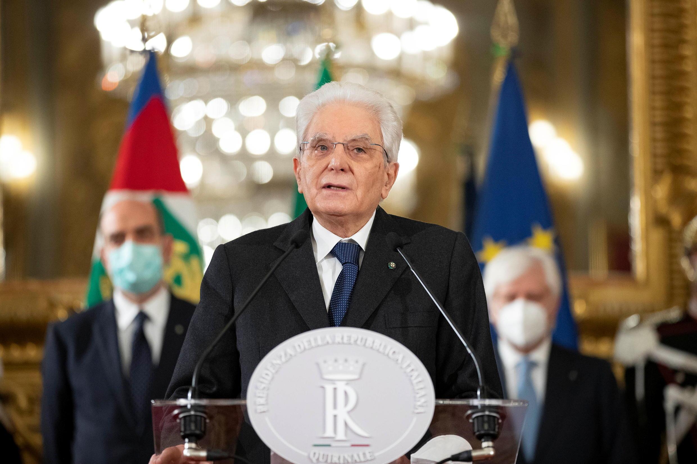 ITALY PRESIDENT MATTARELLA FOUR DAYS DEADLINE